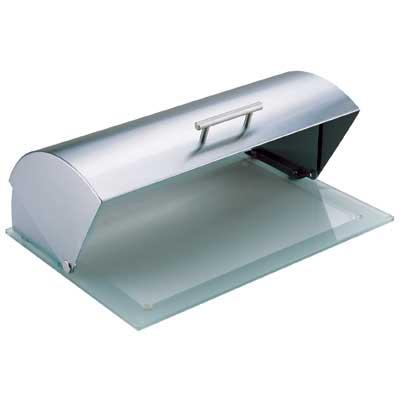 Хлебница Bekker, 39 х 28 х 15 см. BK-3068BK-3068Хлебница Bekker позволит сохранить ваш хлеб свежим и вкусным. Она выполнена в классическом дизайне из нержавеющей стали и стекла. Хлебница снабжена удобной крышкой. Она имеет компактные размеры, поэтому не займет много места на вашей кухне. Эксклюзивный дизайн, эстетика и функциональность хлебницы делают ее превосходным аксессуаром на вашей кухне. Характеристики: Материал: нержавеющая сталь, стекло. Размер хлебницы: 39 см х 28 см х 15 см. Размер упаковки: 42 см х 33 см х 19 см. Артикул: BK-3068.