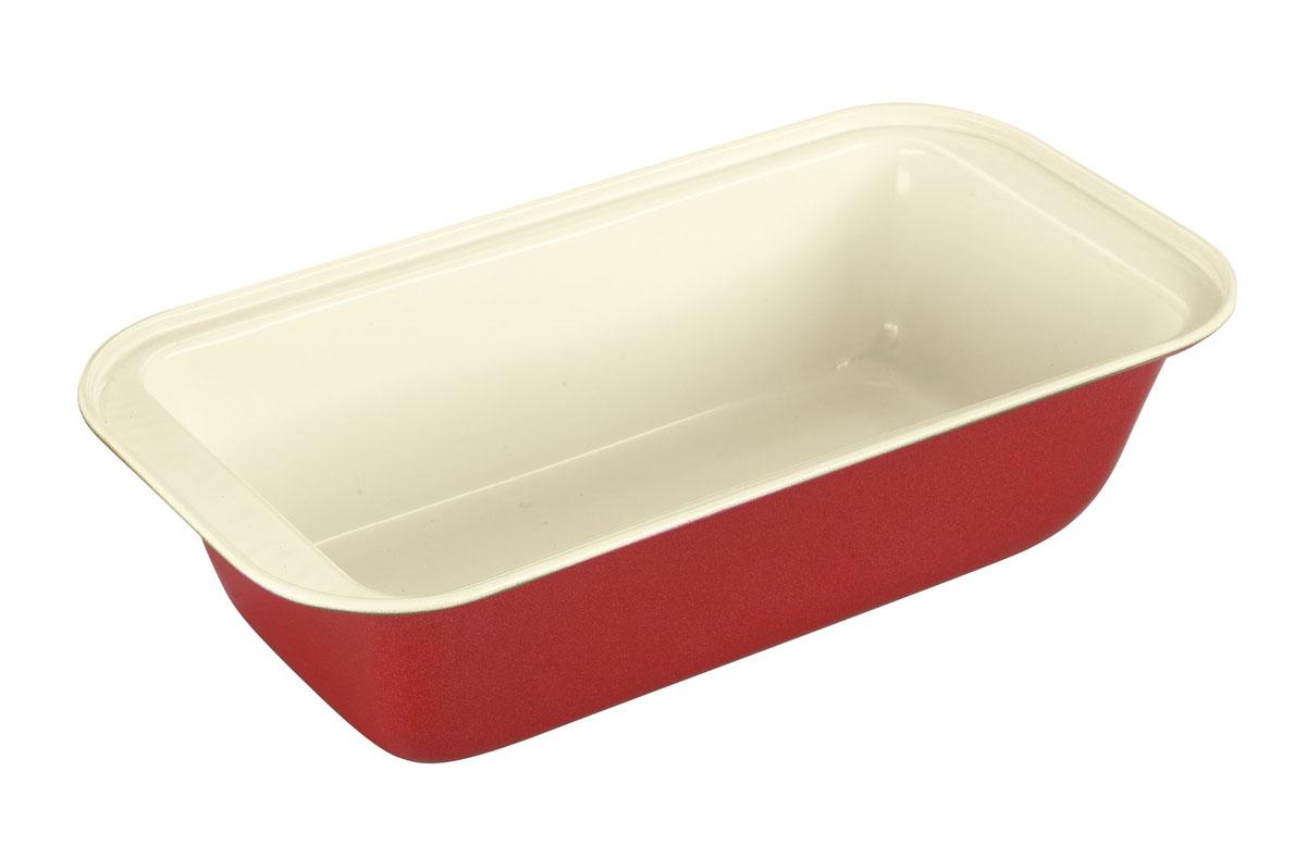 Форма для выпечки Bekker с антипригарным покрытием, 21 см х 11 см. BK-3967BK-3967Форма для выпечки Bekker изготовлена из углеродистой стали с антипригарным керамическим покрытием Pfluon, благодаря чему пища не пригорает и прилипает к стенкам посуды. Кроме того, готовить можно с добавлением минимального количества масла и жиров. Керамическое покрытие также обеспечивает легкость мытья. Внешнее жаростойкое покрытие красного цвета делает форму оригинальным кухонным аксессуаром. Глубокая прямоугольная форма идеальна для приготовления кексов. Подходит для использования в духовом шкафу. Не подходит для СВЧ-печей. Рекомендуется ручная чистка. Используйте только деревянные и пластиковые лопатки.