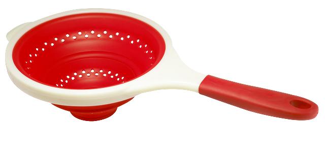 Дуршлаг Bekker, цвет: красный, 24 см. BK-9531BK-9531 красныйДуршлаг Bekker, изготовленный из высококачественного пищевого силикона, станет полезным приобретением для вашей кухни. Он идеально подходит для процеживания, ополаскивания и стекания макарон, овощей, фруктов. Дуршлаг оснащен удобной пластиковой ручкой. Силиконовая часть выдерживает температуру до +120°С. Можно мыть в посудомоечной машине. Характеристики: Материал: силикон, пластик. Диаметр: 24 см. Высота: 9,5 см. Длина ручки: 19 см. Размер упаковки: 41 см х 25 см х 2,5 см.