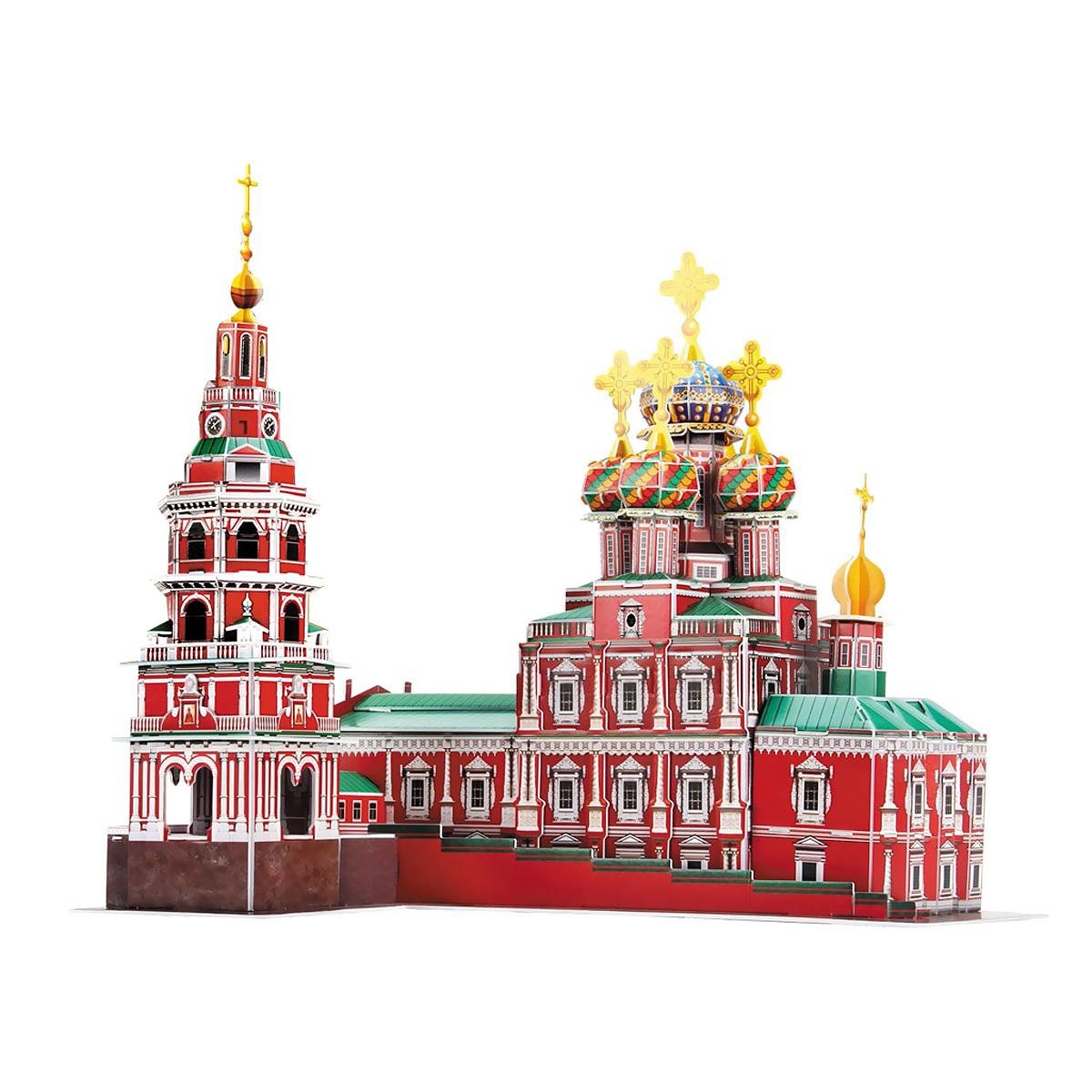CubicFun Рождественская церковь, 135 элементов