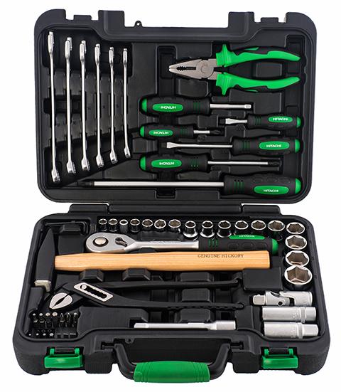 Набор ручного инструмента Hitachi, 56 предметов
