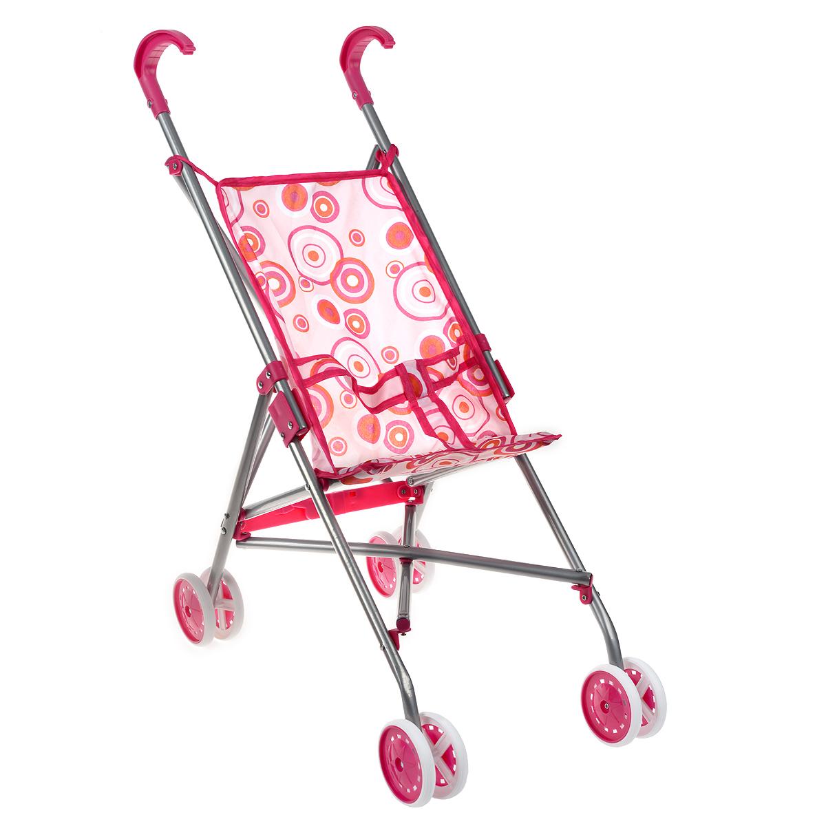 Прогулочная коляска для кукол Melobo, цвет: розовый9302Легкая складная прогулочная коляска для кукол Melobo очень компактна, удобна в эксплуатации и комфортабельна. Рама коляски сделана из облегченного металла, покрашенного в соответствии с цветом тканевых элементов, поэтому она легкая даже для крохотной девочки. Яркая ткань легко снимается и стирается, быстро сохнет. Коляска оборудована специальными ремнями, а ее ручки сделаны из прочного пластика. Коляска для куклы удобна в применении, как на улице, так и в помещении. Благодаря этим качествам коляску всегда хочется брать на прогулку, которая станет незабываемой, тем более, что на улице можно покатать свою любимую куколку.
