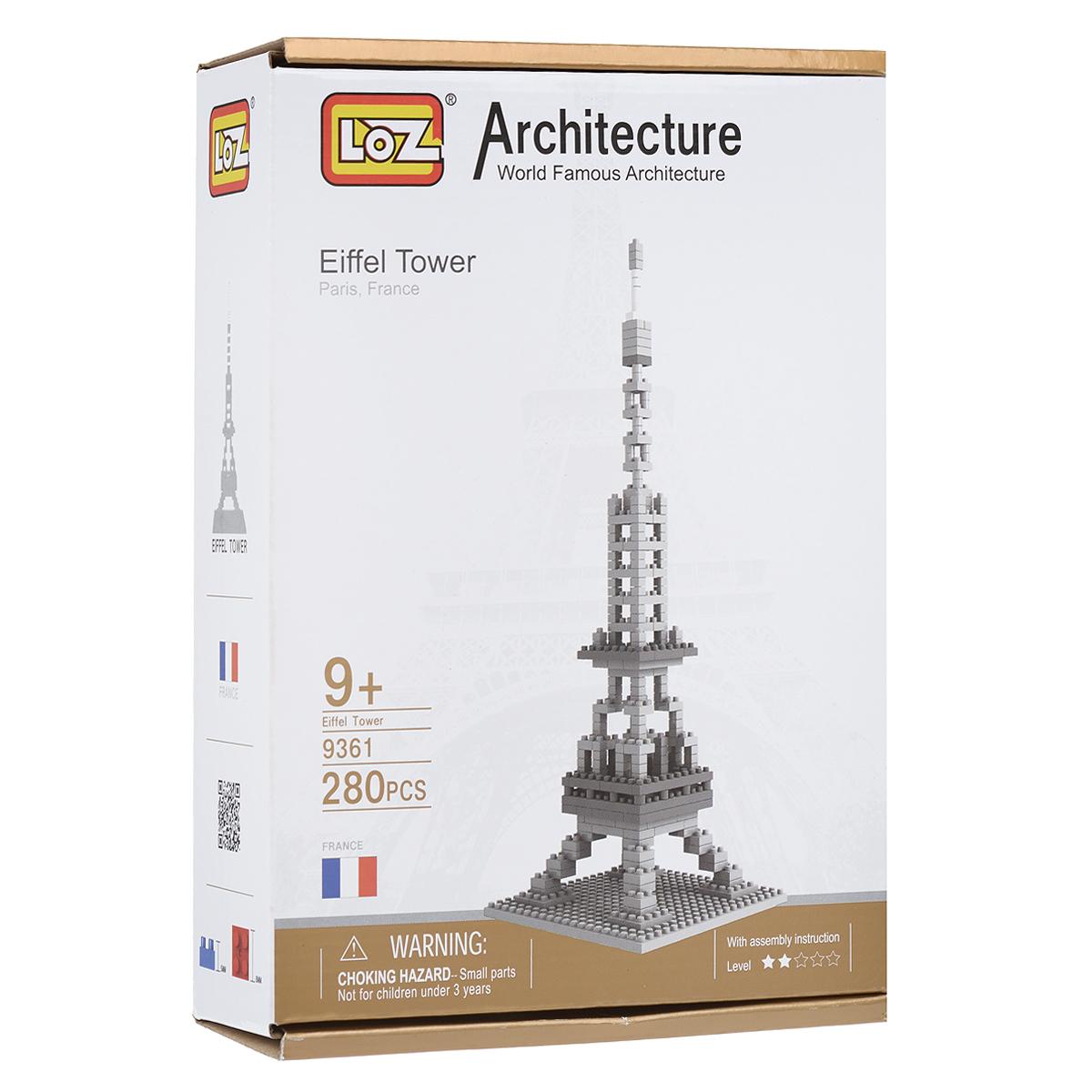 Эйфелева башня. Объемный 3D-пазл, 280 элементов