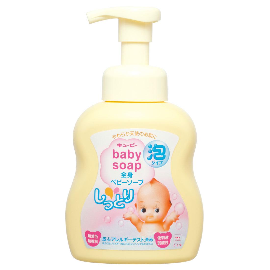 Увлажняющее жидкое мыло-пена для малыша Cow, 400 мл. Q-18-061Q-18-061Увлажняющее жидкое мыло-пена Cow разработано для ежедневного мытья тела и волос малыша. Моющая основа из компонентов аминокислотного происхождения мягко удаляет загрязнения, не смывая естественный жировой слой кожи. Содержит природный сквалан, который защищает кожу, и вытяжку из солодки для мягкого увлажнения. Мыло не содержит красителей и ароматизаторов и не раздражает кожу. Прекрасно подходит взрослым с чувствительной кожей. Характеристики: Объем: 400 мл.