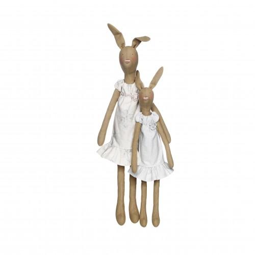 Набор для шитья Tilda Кролики, 2 шт480689Набор для шитья куклы Tilda Кролики прекрасно подойдет для создания оригинальных и ярких игрушек. Набор содержит различные хлопчатобумажные ткани, деревянную палочку, иглы, нитки.