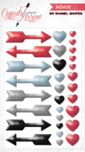 Декоративные стразы My Minds Eye Cupids Arrow, 30 шт. CA1012CA1012Набор My Minds Eye Cupids Arrow состоит из 30 декоративных стразов, с помощью которых вы сможете украсить открытку, фотографию, альбом, подарок и другие предметы ручной работы. Все стразы в наборе имеют оригинальный и яркий дизайн. На задней стороне стразов - клейкая поверхность.