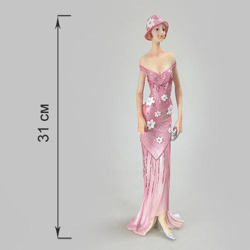 Статуэтка Дама с клатчем, высота 31 см514-949Статуэтка Дама с клатчем, выполненная из полистоуна, станет отличным украшением интерьера вашего дома или офиса. Статуэтка выполнена в виде дамы в розовом платье и с клатчем в руках. Вы можете поставить статуэтку в любом месте, где она будет удачно смотреться, и радовать глаз. Также она может стать оригинальным подарком для всех любителей стильных вещей.