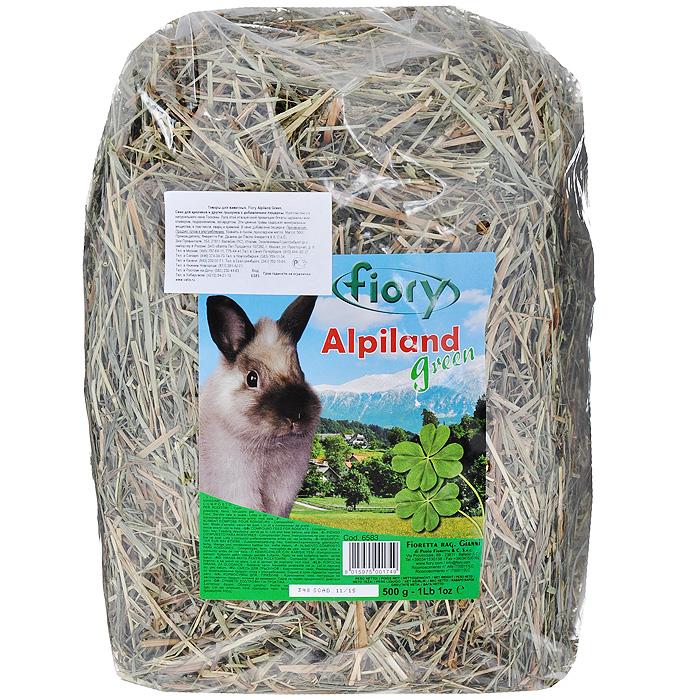 Альпийское сено для грызунов Fiory Alpiland Green, с люцерной, 500 г06583Альпийское сено для грызунов Fiory Alpiland Green прекрасно подходит для ежедневного рациона всех видов кроликов. Продукт изготовлен из натурального сена Тосканы. Луга этой итальянской провинции богаты клевером, подорожником, одуванчиком, эспарцетом. Эти ценные травы содержат минеральные вещества, в том числе, кварц и кремний. Трава является самым важным продуктом питания кроликов, живущих в природе и на открытом воздухе. Сено ароматное и богатое люцерной посевной, одуванчиком и клевером, высушенное до нужной степени, чтобы не вредить деликатному кишечнику кролика, является маленьким кусочком природы, подаренным вашему кролику. Состав: сено, люцерна. Вес: 500 г. Товар сертифицирован.