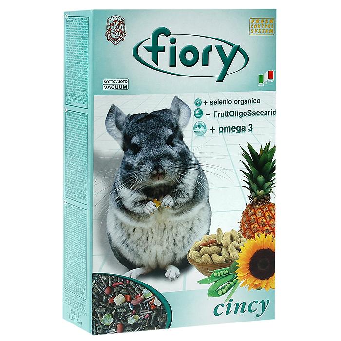 Корм для шиншилл Fiory Cincy, 800 г06547Корм Fiory Cincy - это полнорационный корм, разработанный специально для питания шиншилл. Он содержит очень большое количество трав, сена и волокнистого сырья, для того, чтобы лучше соответствовать правильным пищевым потребностям наших маленьких друзей и для того, чтобы гарантировать регулярную работу их кишечника. В смесь добавлены некоторые виды овощей, такие, как давленый горох и морковь. В небольшом количестве, чтобы не превысить допустимую норму жиров, добавлен арахис и семена подсолнечника, небольшая премия, улучшающая вкус смеси. Для облегчения выведения проглатываемой шерсти, в корм добавлены небольшие кубики ананаса, повышающие активность работы кишечника. Другой характеристикой смеси является добавление гранул: - Омега 3 - Омега 3 регулирует уровень жиров, присутствующих в крови, поддерживает и укрепляет клеточные мембраны. - Фруктоолигосахариды, полученные из корней цикория, поддерживают нормальную микрофлору в кишечнике животного и препятствуют развитию...