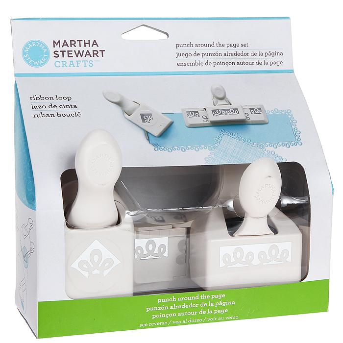 Набор фигурных дыроколов Martha Stewart Петельки, край и угол, 2 шт. EKS-42-60053EKS-42-60053Набор включает 2 фигурных дырокола Martha Stewart, которые позволяют создать фигурный край вокруг листа. Угол и край могут использоваться отдельно. Используются для создания оригинальных открыток, оформления подарков, в бумажном творчестве.