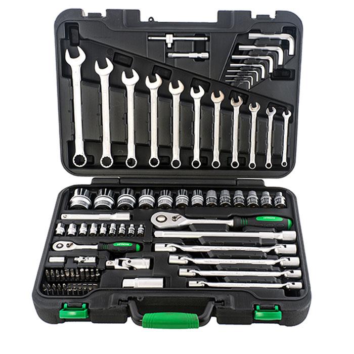 Набор ручного инструмента Hitachi, 77 предметов