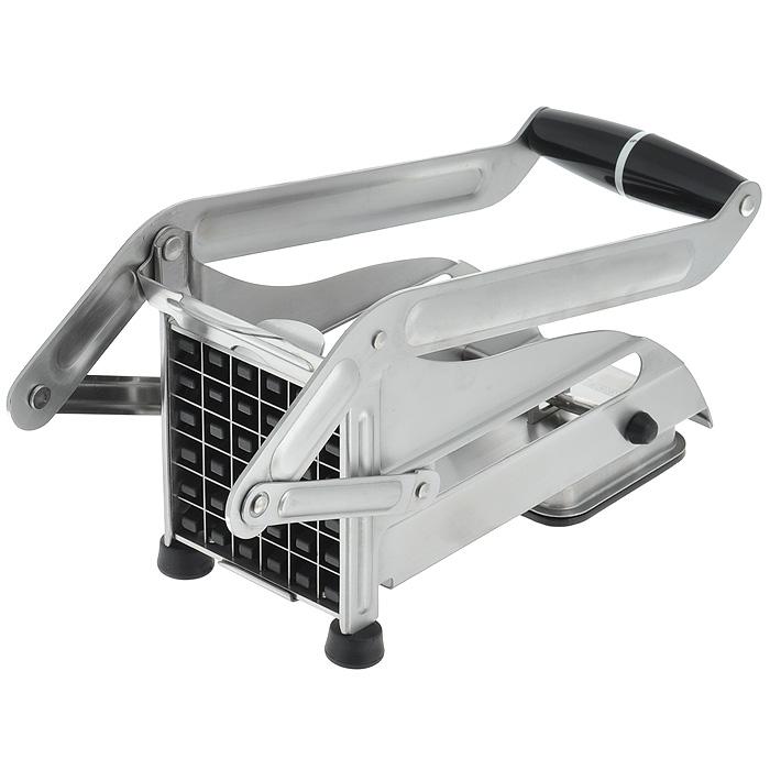 Машинка для резки картофеля Gefu13750Машинка для нарезки картофеля Gefu изготовлена из высококачественного пластика и нержавеющей стали. Блок ножей обеспечивает нарезание 36 стержней размером 1,2 см х 1,2 см. Специальное вакуумное устройство обеспечивает закрепление прибора на гладкой поверхности. Блок ножей легко снимает для очистки. Можно мыть в посудомоечной машине.