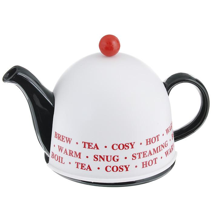 """Чайник заварочный """"Mayer & Boch"""", с термо-колпаком, цвет: черный, 500 мл. 21872"""