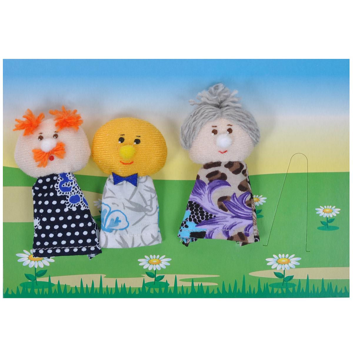 Пальчиковый театр Колобок, 7 предметов017.02Пальчиковый театр Колобок - это набор развивающих мягких игрушек, состоящий из фигурок надеваемых на пальцы руки взрослого или ребенка. В комплекте пальчиковые куклы, 7 штук: дед, бабка, колобок, заяц, волк, медведь, лиса. Рекомендуем работать разными парами пальцев, разными руками и обеими руками одновременно. Фигурки изображают известных сказочных героев. Все персонажи очень яркие, мягкие. Маленькие фигурки пальчикового театра создадут Вам компанию во время прогулки или посещения поликлиники, в дороге. Они не займут много места в маминой сумочке и помогут развлечь малыша. С их помощью можно оживить любимые стихи, сказки, потешки. Незамысловатая игрушка развивает интонацию, исполнительские умения, творческие способности в передаче образа, мелкую моторику. Театрализованные игры создают эмоциональный подъем, повышают жизненный тонус ребенка. Характеристики: Материал: текстиль. Высота одной фигурки: 8 см Размер упаковки: 25,5 см x 24 см x...