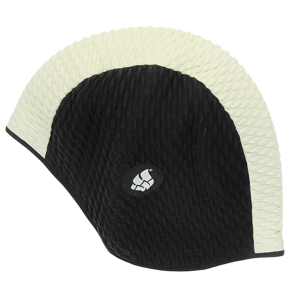 Шапочка женская для плавания MadWave Bubble, цвет: белый, черныйM0514 01 0 M12WЛатексная шапочка для плавания MadWave Bubble. Имеет превосходную эластичность и высокий уровень комфорта. Высококачественный материал обеспечивает долгий срок службы. Пузырьковая поверхность уменьшает площадь соприкосновения с волосами.