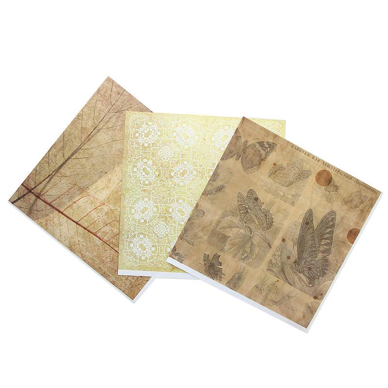 Набор бумаги для скрапбукинга Craft Premier Ботанический атлас, 3 листаBA-004Набор бумаги для скрапбукинга Craft Premier Ботанический атлас позволит создать красивый альбом или открытку ручной работы. Набор включает 3 листа из плотной бумаги с двухсторонней печатью, все различных дизайнов, всего 6 видов. Не содержит лигнина и хлора. Скрапбукинг - это хобби, которое способно приносить массу приятных эмоций не только человеку, который занимается скрапбукингом, но и его близким, друзьям, родным. Это невероятно увлекательное занятие, которое поможет вам сохранить наиболее памятные и яркие моменты вашей жизни для вас и даже ваших потомков.