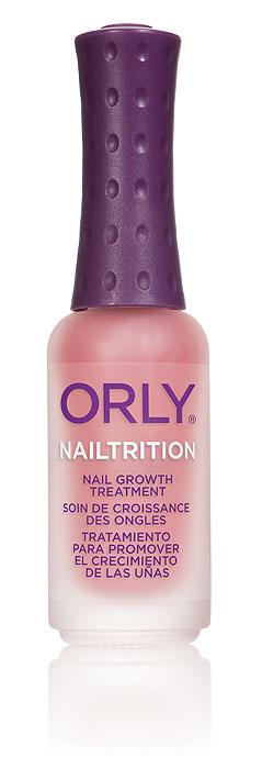 Orly Покрытие для укрепления и роста ногтей Nailtrition, 9 мл