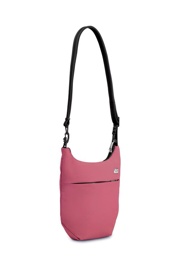 """Сумка PacSafe """"Slingsafe 100 GII"""", цвет: розовый"""