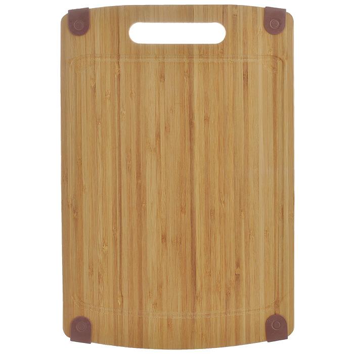 Доска кухонная Semplice, 37 х 25 х 1 см SB-MSB-MДоска кухонная Semplice изготовлена из бамбука. Прекрасно подходит для приготовления и сервировки пищи. Всем известно, что на кухне без разделочной доски не обойтись! Ведь во время приготовления пищи мы то и дело что-то режем. Поэтому разделочная доска должна быть изготовлена из прочного и экологически чистого материала, ведь с ней соприкасается наша пища. Характеристики: Материал: бамбук. Размер: 37 см х 25 см х 1 см. Производитель: Германия. Артикул: SB-M.