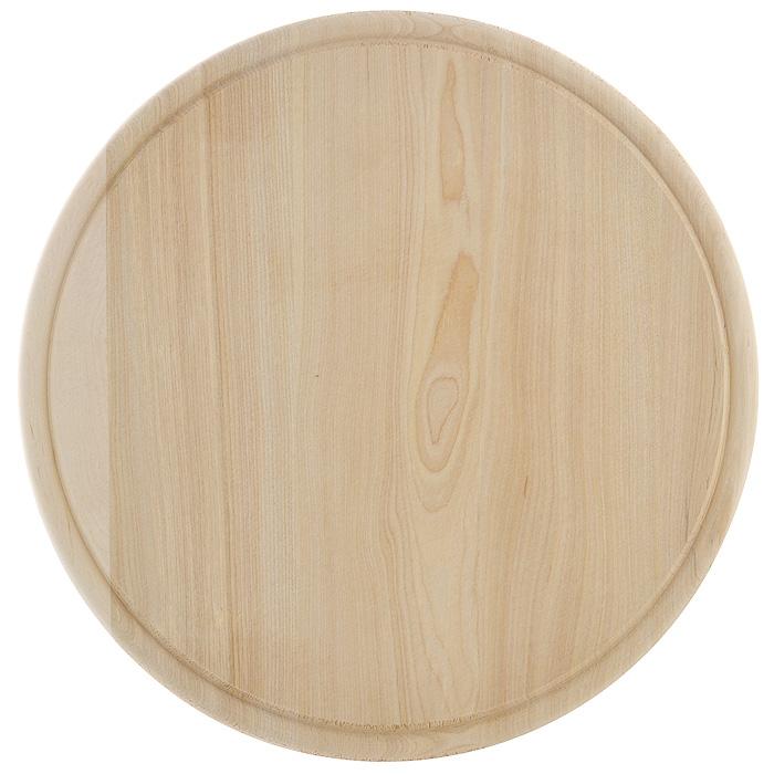 Доска разделочная Hans & Gretchen. 9924599245Доска разделочная Hans & Gretchen изготовлена из дерева. Прекрасно подходит для приготовления и сервировки пищи. Всем известно, что на кухне без разделочной доски не обойтись! Ведь во время приготовления пищи мы то и дело что-то режем. Поэтому разделочная доска должна быть изготовлена из прочного и экологически чистого материала, ведь с ней соприкасается наша пища. Характеристики: Материал: дерево. Диаметр доски: 29,5 см. Производитель: Германия. Артикул: 99245.