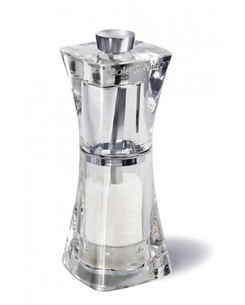 Мельница для соли Crystal, 11 см. H374020H374020Мельница для соли Crystal легка в использовании, стоит только покрутить верхнюю часть мельницы, и Вы с легкостью сможете добавить соль по своему вкусу в любое блюдо. Оригинальная мельница модного дизайна будет отлично смотреться на Вашей кухне.