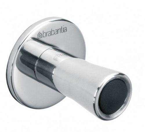 Крючки для полотенец Brabantia 2 шт, цвет: серебристый. 427404427404Крючки для полотенец Brabantia, выполненные из нержавеющей стали, станут отличным украшением интерьера. Крючок крепится при помощи гвоздей.