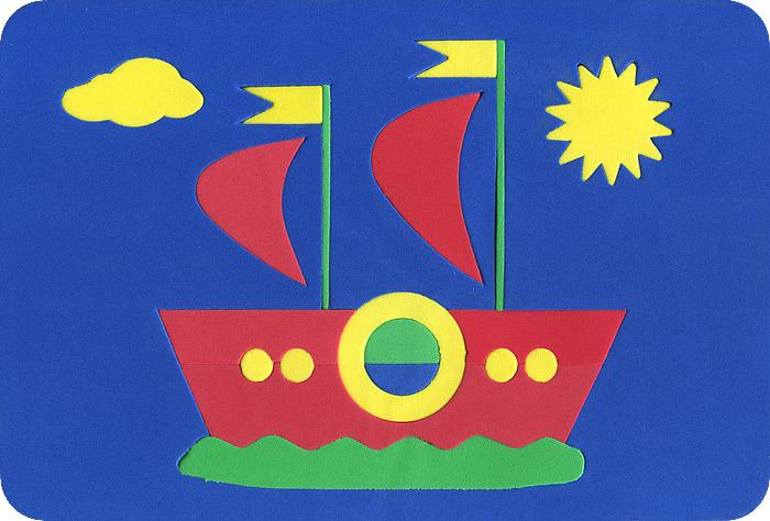 Август Пазл для малышей Кораблик цвет основы синий27-2009Мягкая мозаика Кораблик выполнена из мягкого полимера, который дает юному конструктору новые удивительные возможности в игре: детали мозаики гнутся, но не ломаются, их всегда можно состыковать. Мозаика представляет собой рамку, в которой из девятнадцати элементов собирается яркий парусник. Ваш ребенок сможет собрать кораблик и в ванной. Элементы мозаики можно намочить, благодаря чему они будут хорошо прилипать к стене в ванной комнате. Такая мозаика развивает пространственное и логическое мышление, память и глазомер, знакомит с формами и цветом предмета в процессе игры.