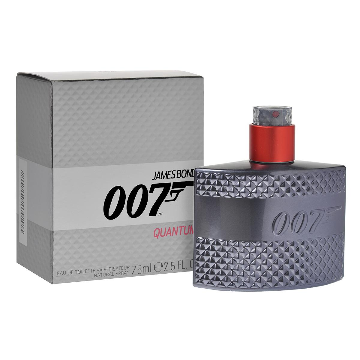 James Bond Туалетная вода Quantum, мужская, 75 мл0737052739373Аромат Quantum - третий аромат парфюмерной линии James Bond 007. Это по-настоящему мужественная бодрящая композиция, посвященная умению Бонда оставаться невозмутимым в самых напряженных ситуациях. Уже более пятидесяти лет агент 007 завораживает зрителей своей фантастической уверенностью и неизменной способностью сохранять хладнокровие при любых обстоятельствах, всегда и везде. Аромат James Bond 007 Quantum бодрит тело и ум, позволяя вам с уверенностью принимать вызовы судьбы. Quantum - бодрящий и очень мужественный аромат, включающий только лучшие ингредиенты. В нем воплощены отличительные качества Бонда - уверенность и самоконтроль. Эти две черты переданы в композиции с помощью двух этапов раскрытия аромата. Quantum открывается мужественными классическими аккордами, над которыми не властны время и мода. Классификация аромата : фруктовый, цветочный. Пирамида аромата : Верхние ноты: бергамот, кардамон, ягоды...