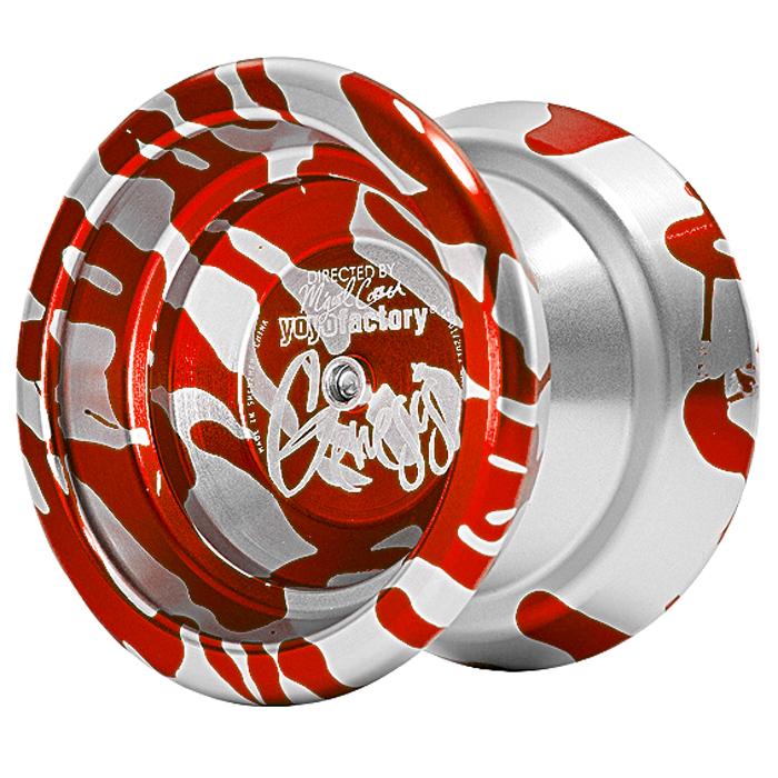 Йо-Йо YoYoFactory Genesis, цвет: красный, серебристыйgenesis/redПрофессиональное металлическое йо-йо YoYoFactory Genesis разработано чемпионом США и Мира в дисциплинах А5 - Мигелем Корреа. Genesis обладает максимальной стабильностью при высокой скорости игры и уверенной подвижностью. Весь секрет заключается в особом H-профиль строения йо-йо, в котором максимальный вес размещен в ободах, что придает стабильность. Genesis выпускается в различных acid wash цветовых решениях, что позволяет игроку подобрать для себя самую подходящую расцветку. Йо-йо YoYoFactory Genesis - одно из самых популярных йо-йо, с которыми игроки выступают на соревнованиях. Мигель Корреа уже дважды одерживал победу на Чемпионате Мира с этой моделью. Йо-йо - это игрушка, состоящая из двух симметричных половинок соединенных осью, к которой прикреплена веревка. Современный йо-йо значительно отличается от тех, к которым многие привыкли. Сейчас йо-йо - это такая же часть молодежной культуры как скейт, ВМХ или сноуборд. Йо-йо популярно во многих странах...