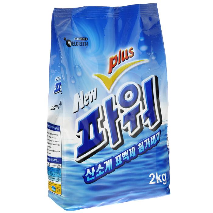 Стиральный порошок Welgreen New Power Plus, с тотолазой, 2 кг301020Стиральный порошок Welgreen New Power Plus подходит для всех типов ткани, кроме шерсти и шелка. Содержит комплекс ферментов Тотолазу (протеаза, липаза, амилаза, целлюлаза), которые удаляют разные виды загрязнений, в том числе белки и жиры. Превосходно стирает и отбеливает в холодной воде. Содержит кислородный и оптический отбеливатель для эффективного и бережного отбеливания цветных и белых тканей с эффектом кипячения. Мало пенится, что позволяет экономить воду и время при полоскании. Содержит кондиционер для белья. В 4-6 раз экономичнее обычных стиральных порошков. Подходит для всех типов стиральных машин и ручной стирки.