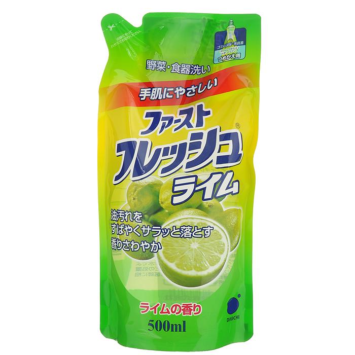 Гель для мытья посуды Daiichi Фреш Элеганс, с ароматом лайма, 500 мл109916Гель для мытья посуды Daiichi Фреш Элеганс с ароматом лайма предназначен для мытья столовой посуды, посуды для приготовления пищи, овощей и фруктов. Средство полностью удаляет трудновыводимые пятна жира и имеет приятный цитрусовый аромат. Экологически чистый продукт. Содержит растительный экстракт, безопасный для кожи рук. Не сушит и не раздражает кожу рук. Не оставляет запаха на овощах и фруктах. Прекрасно смывается водой с любой поверхности полностью и без остатка. Подходит для мытья детской посуды и аксессуаров для кормления новорожденных.