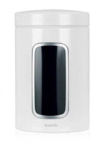 Контейнер для сыпучих продуктов Brabantia с окном, 1,4 л. 491009491009Контейнер для сыпучих продуктов Brabantia, изготовленный из высококачественной нержавеющей стали, станет незаменимым помощником на кухне. В нем будет удобно хранить разнообразные сыпучие продукты, такие как кофе, крупы, макароны или специи. Контейнер снабжен металлической крышкой и окошком. Оригинальный дизайн контейнера позволит украсить любую кухню, внеся разнообразие, как в строгий классический стиль, так и в современный кухонный интерьер.