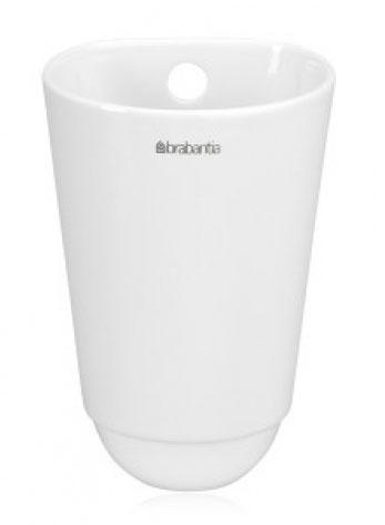 Чашка кухонная Brabantia, малая, цвет: бежевый. 460289460289Чашка кухонная Brabantia подойдет для хранения кухонных принадлежностей или свежих трав. Такая чашка станет незаменимым помощником на кухне, а оригинальный дизайн позволит сделать ее отличным подарком друзьям, коллегам, любимым и, конечно же, себе. Можно мыть в посудомоечной машине.