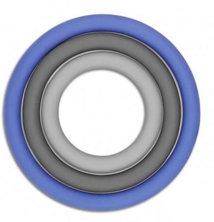 Набор подставок под горячее Brabantia, 3 шт. 621024621024Набор подставок под горячее Brabantia включает три кольца подставки под горячее, выполненные из силикона. Такие подставки защищают поверхность стола от загрязнений и воздействия высоких температур. Яркий дизайн подставок украсит интерьер вашей кухни и привнесет индивидуальности в обычную сервировку стола.