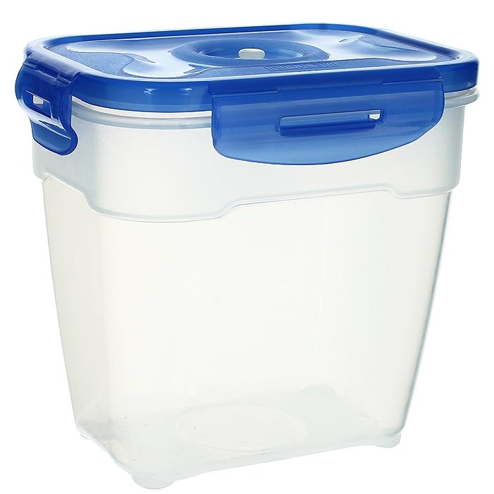 """Контейнер вакуумный для пищевых продуктов """"Atlantis"""", цвет: синий, 1,4 л"""