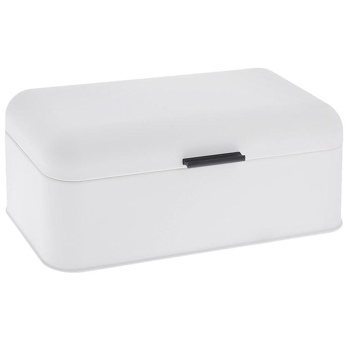 Хлебница Regent Inox Pane, цвет: белый, 43 х 23 х 17 см 93-PA-1393-PA-13Хлебница Regent Inox Pane изготовлена из высококачественной углеродистой стали. Внешнее покрытие белого цвета с эффектом Soft-Touch делает изделие приятным на ощупь, придает благородный матовый оттенок, исключает бликование поверхности и создает особый эффект теплоты и комфорта. Внутреннее покрытие абсолютно безопасно при контакте с пищевыми продуктами. Оно защищает металл от воздействия внешних факторов и неприхотливо в уходе. Крышка плотно и легко закрывается. Стильный и современный дизайн хлебницы с внешним и внутренним цветным покрытием выгодно дополнит любой кухонный интерьер. Хлебница надолго сохранит свежесть, мягкость, аромат хлеба и других хлебобулочных изделий.