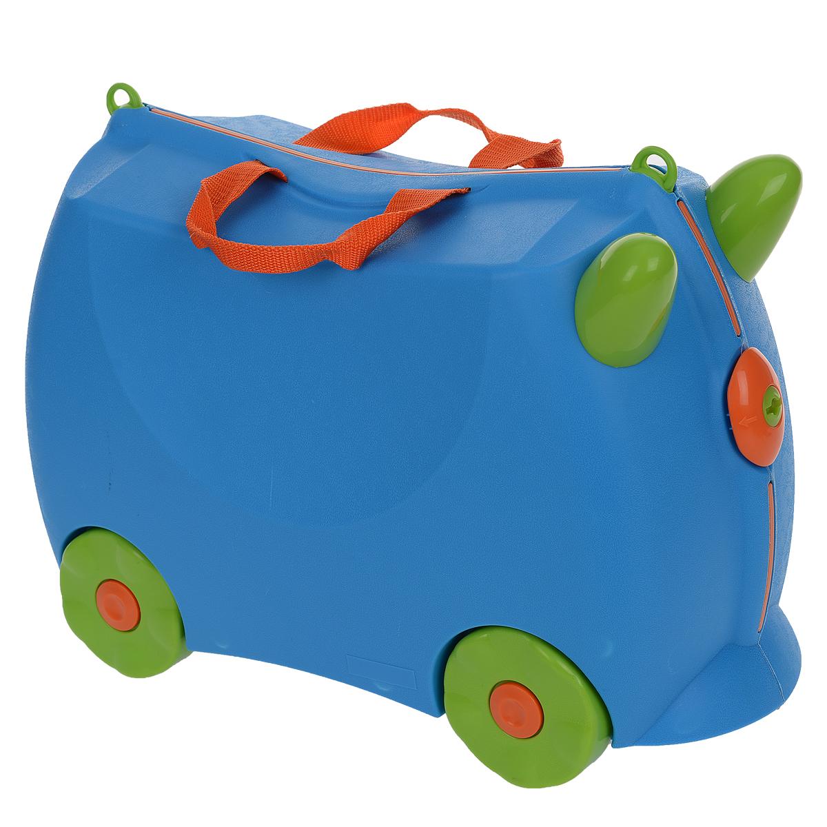 Чемодан детский Bradex Флоппи, цвет: голубой