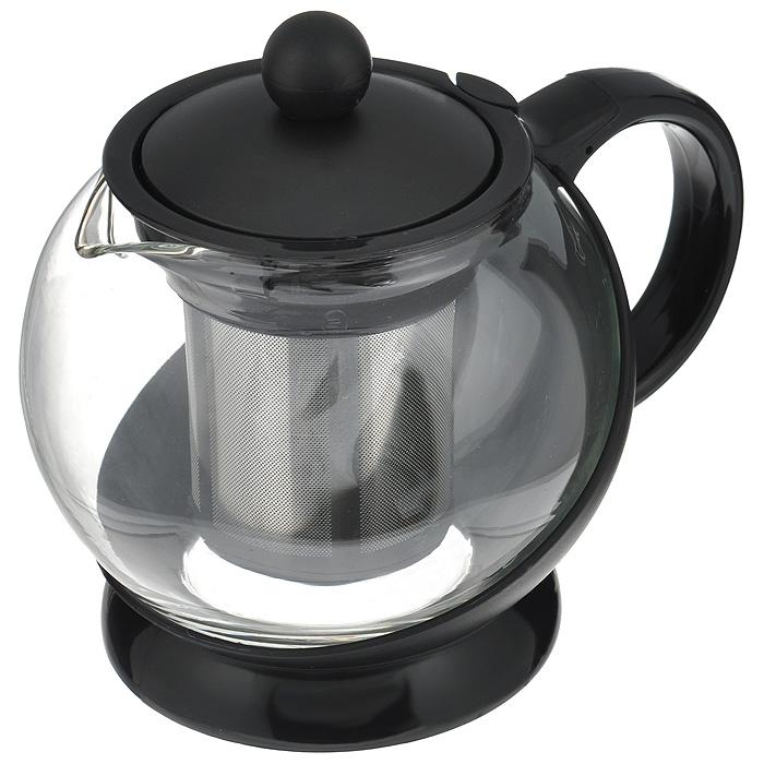 """Чайник заварочный """"Hans & Gretchen"""", с фильтром, цвет: черный, 0,75 л. 14YS-8240"""