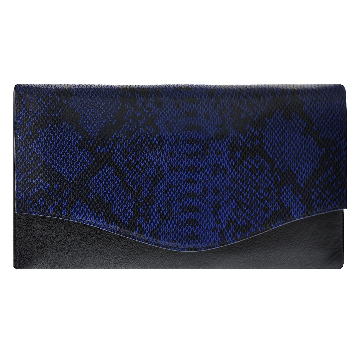 Сумка женская Fancy bag, цвет: черный, синий. 8815В-608815В-60 синийСтильная сумка Fancy bag выполнена из искусственной кожи черного цвета и декорирована тиснением под рептилию. Сумка имеет одно отделения, закрывающихся клапаном на две магнитные кнопки. Внутри расположен вшитый карман на застежке-молнии и два накладных кармана для мелочей. В комплекте чехол для хранения и съемный плечевой ремень. Этот стильный аксессуар станет великолепным дополнением вашего образа. Характеристики: Материал: натуральная кожа, текстиль, металл. Размер сумки: 32 см х 16 см х 3 см. Высота ручек: 99 см. Цвет: черный, синий. Артикул: 8815В-60.