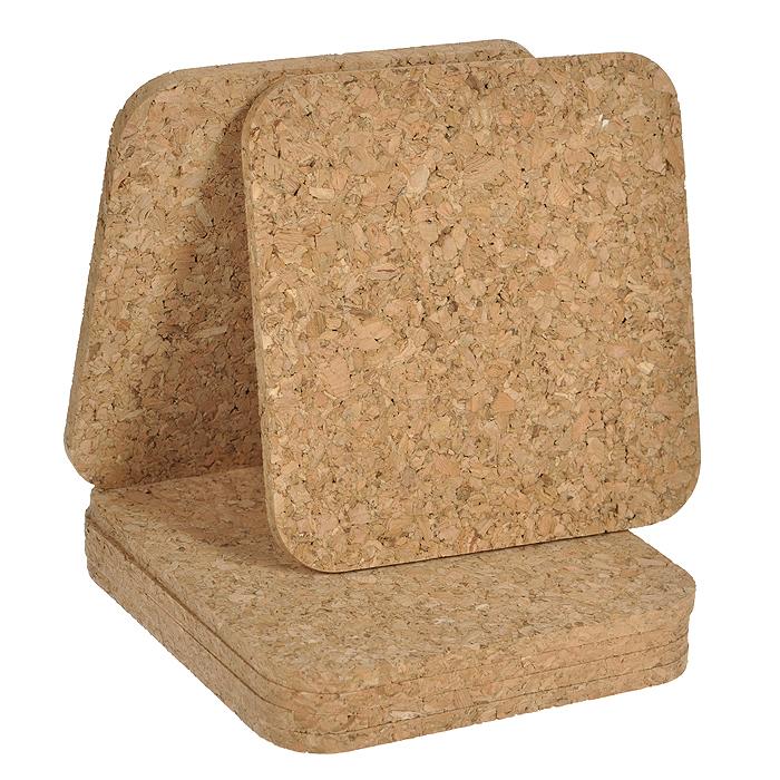Подставки под горячее Hans & Gretchen, 6 шт. 28MC-510128MC-5101Подставки под горячее Hans & Gretchen выполнены из пробкового материала. Такие подставки гармонично дополнят интерьер любой кухни, привнеся в нее атмосферу уюта, и станут отличным подарком. в комплекте 6 штук. Характеристики: Материал: пробка. Размер подставки: 14 см х 14 см х 0,5 см. Артикул: 28MC-5101. Производитель: Китай.