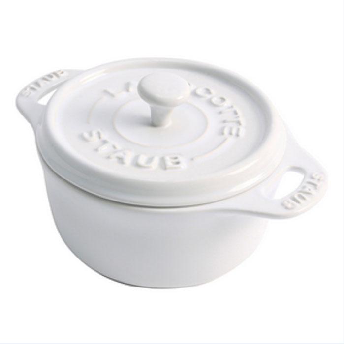 Мини-кокот круглый керамический, 10 см, белый40511-083Посуда изготовлена из глины, покрытой эмалью из стеклянного порошка. Не содержит свинца! Подходит для использования в духовке и микроволновой печи, может использоваться для сервировки. Нельзя использовать на открытом огне. Можно помещать в морозильную камеру,но не ставить керамическую посуду из морозильной камеры сразу в горячую духовку. Чтобы не обжечься, пользуйтесь прихватками. Можно мыть в посудомоечной машине или вручную, используя губку. Сушить вверх дном. Адрес изготовителя: Шен Йин Груп Лимитед, 23 этаж, Винг Ханг Файненс Центр, 60 Глоусестер Роадб Ванчаи, Гонконг, Китай (Shan Yin Group Limited, 23 Floor, Wing Hang Finance Centre, 60 Gloucester Road, Wanchai, Hong Kong) Характеристики: Материал: глина, покрытой эмалью из стеклянного порошка. Размер: 10 см см. Цвет: белый. Артикул: 40511-083.
