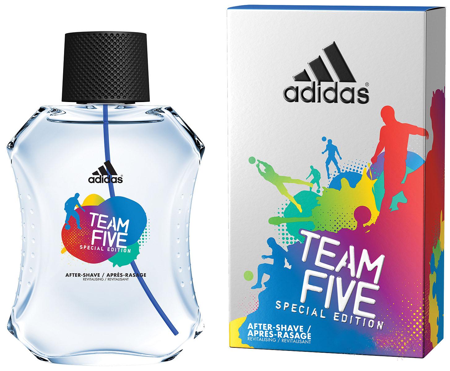 "Adidas Parfums Adidas ������ ����� ������ ""Team Five"", �������, 50 ��"
