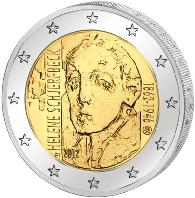 Монета номиналом 2 евро 150 лет со дня рождения художницы Хелены Шерфбек. Финляндия, 2012 годF30 BLUEМонета номиналом 2 евро 150 лет со дня рождения художницы Хелены Шерфбек. Финляндия, 2012 год Диаметр 2,5 см. Сохранность UNC (без обращения).