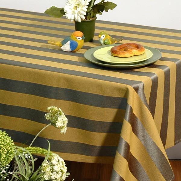 """Скатерть """"Schaefer"""", цвет: зеленый, желтый, 135 x 170 см. 06024-402"""