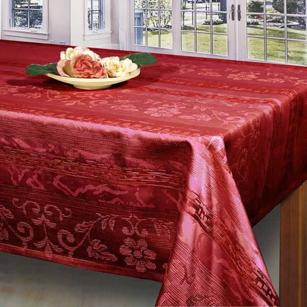 Скатерть Schaefer, цвет: красный, 130 x 170 см. 06395-42906395-429Великолепная скатерть Schaefer, выполненная из полиэстера, органично впишется в интерьер любого помещения, а оригинальный дизайн удовлетворит даже самый изысканный вкус. Скатерть изготовлена из материала красного цвета имитирующего по фактуре натуральный лен и обладает водоотталкивающими свойствами. По краю вышита Мережка в два ряда. Это текстильное изделие станет удобным и оригинальным украшением вашего дома! Характеристики: Материал: 100% полиэстер. Размер скатерти: 130 см х 170 см. Производитель: Германия. УВАЖАЕМЫЕ КЛИЕНТЫ! Обращаем ваше внимание, что в комплектацию товара входит только скатерть, остальные предметы служат лишь для визуального восприятия товара.