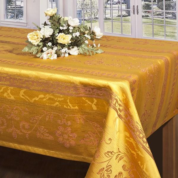Скатерть Schaefer, прямоугольная, цвет: золотистый, 130 x 170 см06397-429Прямоугольная скатерть Schaefer выполнена из сочетания полиэстера и хлопка золотистого цвета с печатным рисунком в виде изысканных цветов. Использование такой скатерти сделает застолье более торжественным, поднимет настроение гостей и приятно удивит их вашим изысканным вкусом. Также вы можете использовать эту скатерть для повседневной трапезы, превратив каждый прием пищи в волшебный праздник и веселье. Характеристики: Материал: 100% полиэстер. Размер скатерти: 130 см х 170 см. Цвет: золотистый. Немецкая компания Schaefer создана в 1921 году. На протяжении всего времени существования она создает уникальные коллекции домашнего текстиля для гостиных, спален, кухонь и ванных комнат. Дизайнерские идеи немецких художников компании Schaefer воплощаются в текстильных изделиях, которые сделают ваш дом красивее и уютнее и не останутся незамеченными вашими гостями. Дарите себе и близким красоту каждый день! УВАЖАЕМЫЕ КЛИЕНТЫ! ...