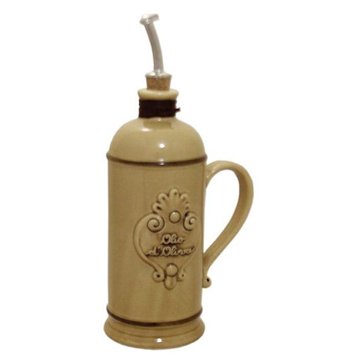 Бутылка для масла Nuova Cer, цвет: бежевый, 750 мл. NC9046-NCA-AL