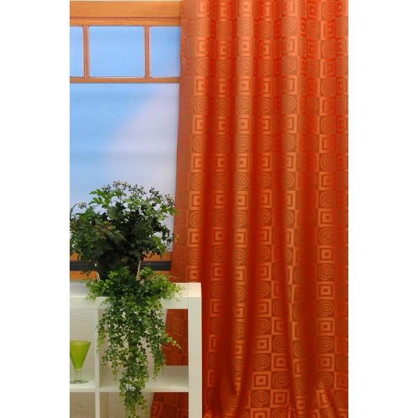 Гардина Schaefer на петлях, цвет: оранжевый, 140 х 245 см 06923-59606923-596Гардина Schaefer выполнена из полиэстера оранжевого цвета и оформлена рисунком. В верхнюю часть гардины вшиты специальные петли. Для подвешивания гардины достаточно лишь продеть в них карниз. Гардина прекрасно подойдет для подвешивания на настенный карниз. Оригинальное оформление гардины внесет разнообразие и подарит заряд положительного настроения. Характеристики: Материал: 100% полиэстер. Размер гардины (Ш х В): 140 см х 245 см. Цвет: оранжевый. Ширина петли: 5 см. Длина петли: 10,5 см. Немецкая компания Schaefer создана в 1921 году. На протяжении всего времени существования она создает уникальные коллекции домашнего текстиля для гостиных, спален, кухонь и ванных комнат. Дизайнерские идеи немецких художников компании Schaefer воплощаются в текстильных изделиях, которые сделают ваш дом красивее и уютнее и не останутся незамеченными вашими гостями. Дарите себе и близким красоту каждый день!