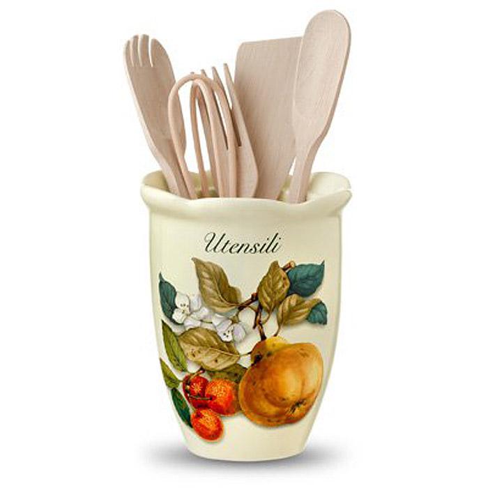 Подставка для кухонных принадлежностей Nuova Cer Итальянские фрукты