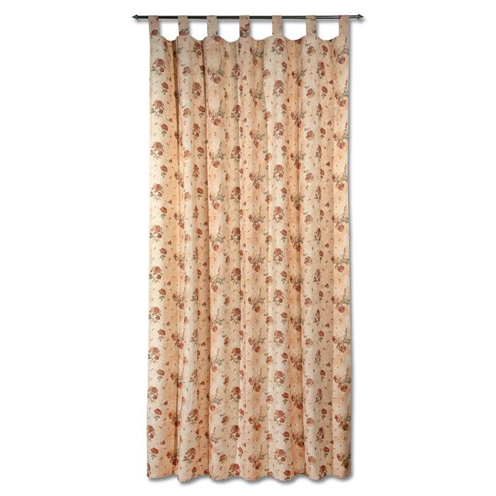 Гардина Schaefer на петлях и шторной тесьме, цвет: светло-бежевый, 140 х 245 см 07340-59607340-596Гардина Schaefer выполнена из полиэстера и хлопка светло-бежевого цвета и оформлена рисунком роз. Гардина имеет и петли для использовании ее на круглом карнизе и пришитую шторную ленту для подвешивания ее на крючках. Гардина прекрасно подойдет для подвешивания на настенный карниз. Оригинальное оформление гардины внесет разнообразие и подарит заряд положительного настроения. Характеристики: Материал: 65% хлопок, 35% полиэстер. Размер гардины (Ш х В): 140 см х 245 см. Цвет: светло-бежевый. Ширина петли: 5 см. Длина петли: 11,5 см. Немецкая компания Schaefer создана в 1921 году. На протяжении всего времени существования она создает уникальные коллекции домашнего текстиля для гостиных, спален, кухонь и ванных комнат. Дизайнерские идеи немецких художников компании Schaefer воплощаются в текстильных изделиях, которые сделают ваш дом красивее и уютнее и не останутся незамеченными вашими гостями. Дарите себе и близким красоту...